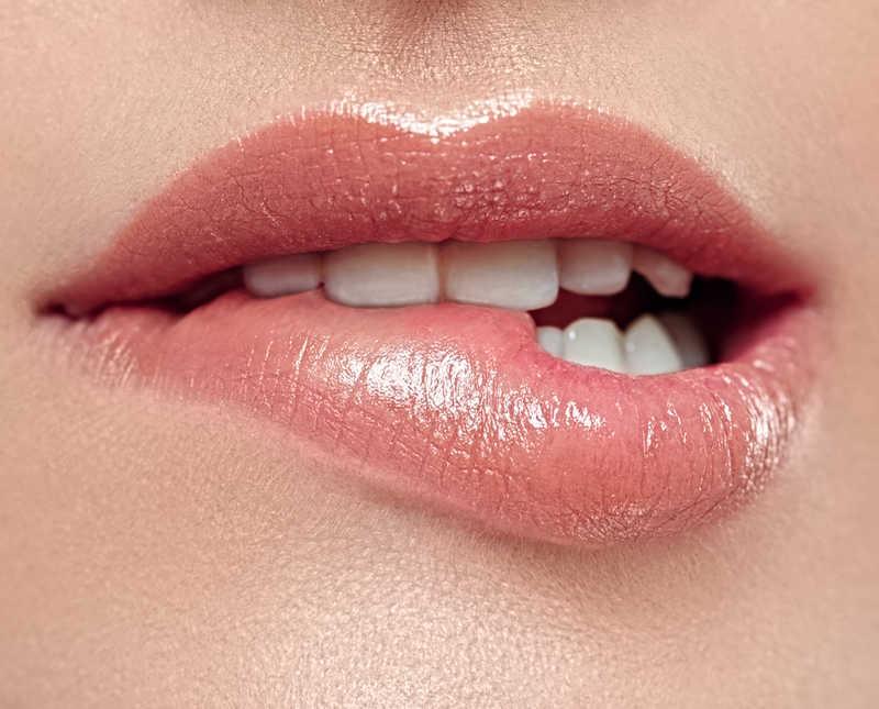 Buzele crapate